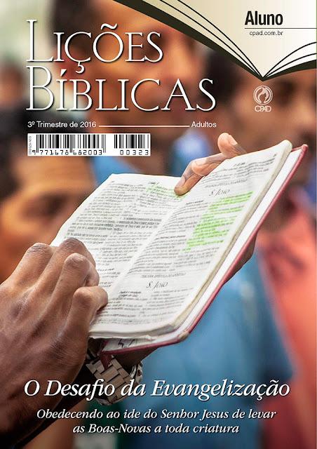 Lição 2 Deus, o Primeiro Evangelista. Ev. Cido Silva