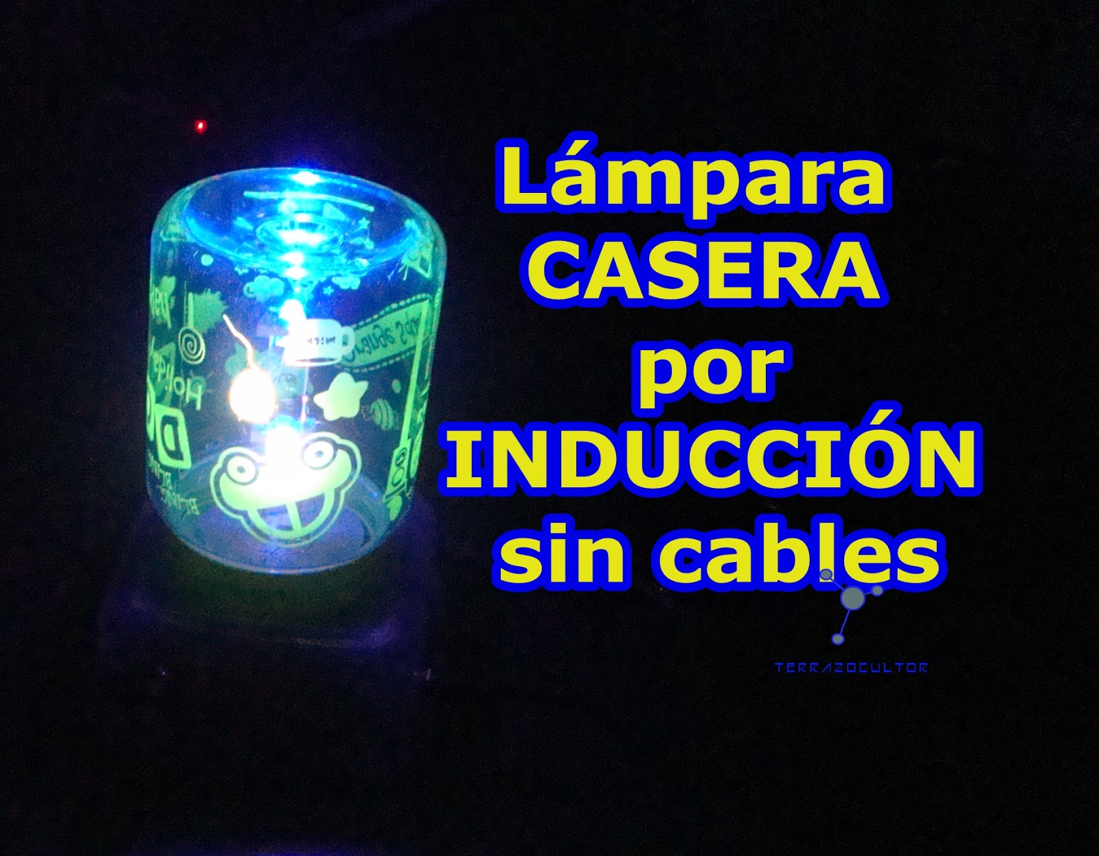 Ciencia inventos y experimentos en casa l mpara por for Lamparas sin cables