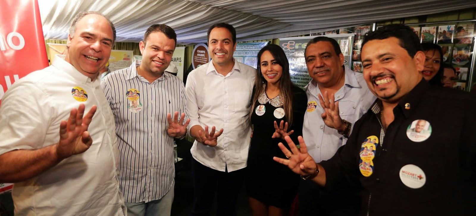 Em Trindade, Paulo recebe apoios de lideranças do PTB e do PT, Agreste news