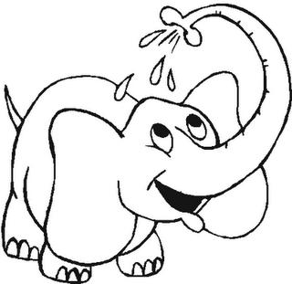 Dibujos Para Imprimir Y Colorear Elefante Para Colorear