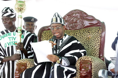 Tor Tiv enthroned, says Tiv people marginalised