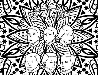 Mandala de los niños héroes de Chapultepec