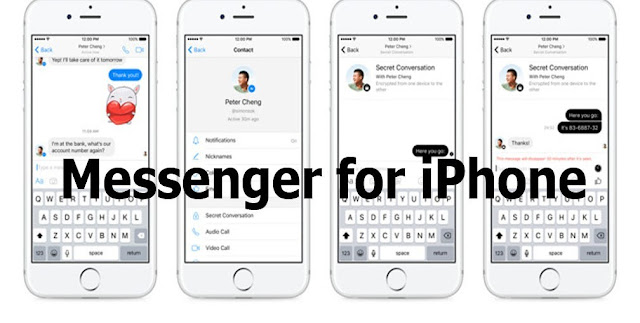 Messenger for iPhone – How to Download