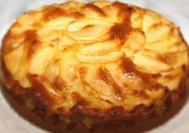 Torta de manzana invertida
