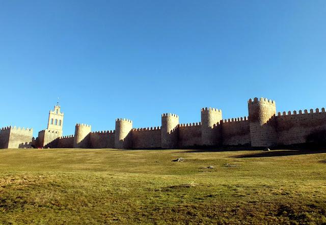 Un día recorriendo la muralla de Ávila