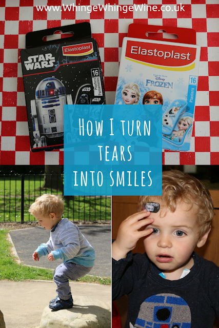 My tips for soothing away the tears when toddlers get bumps and scrapes #tearsintosmiles campaign with Elastoplast