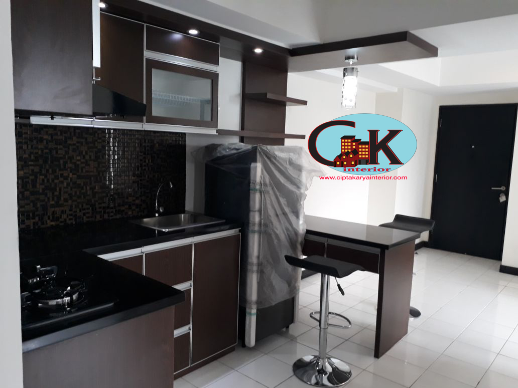 Desain Interior Apartment 2 Kamar Furnish Mewah CIPTA KARYA Interior