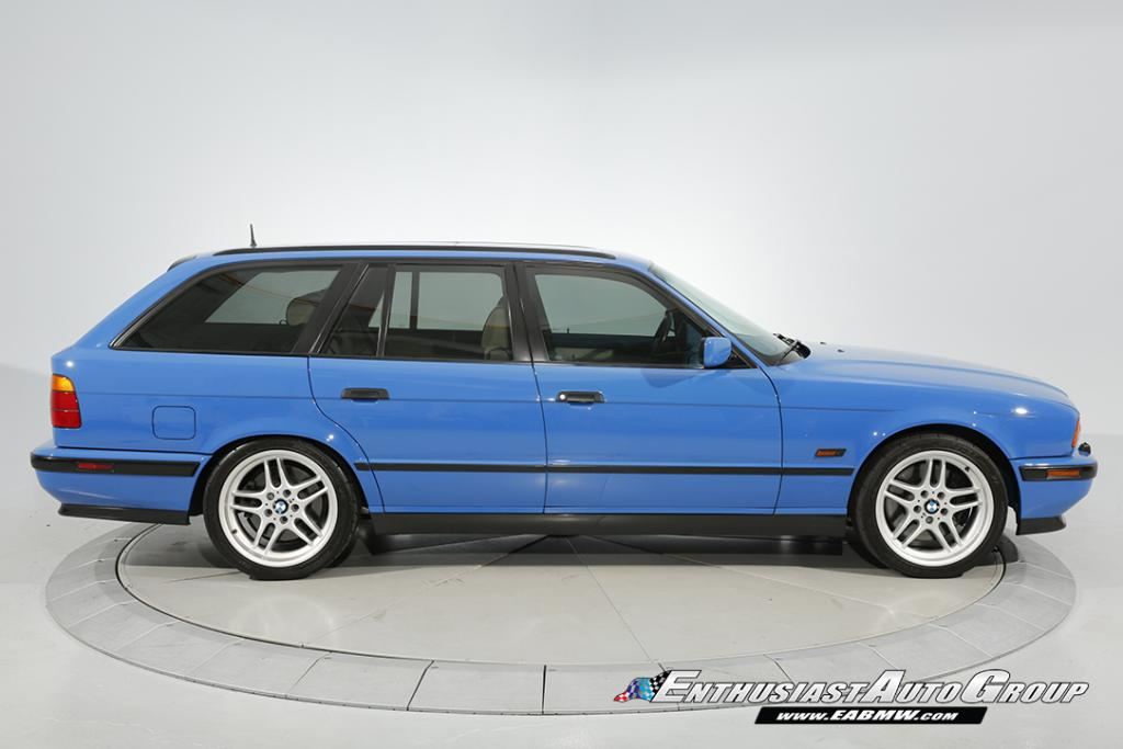 Santorini Blue '95 BMW M5 Touring Individual Is One Of Two