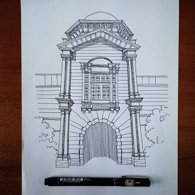 December Sketch : KTM Ipoh