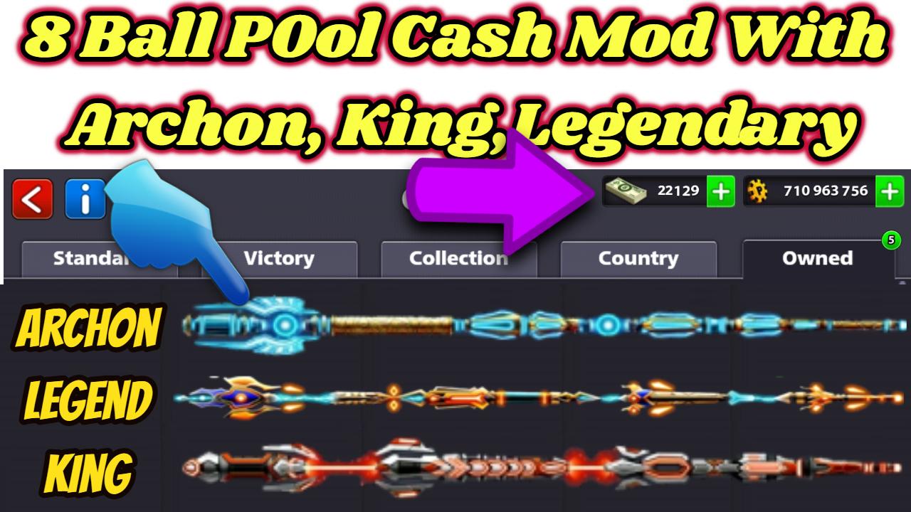 8 ball pool legendary cues hack apk download 2018