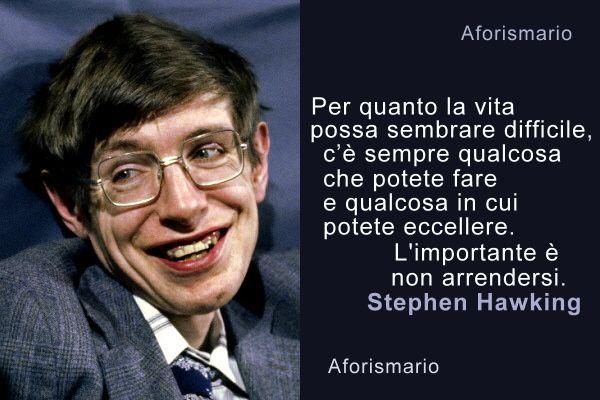 Aforismario Frasi E Citazioni Di Stephen Hawking