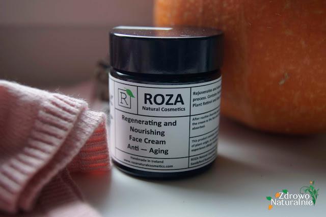 ROZA Cosmetics - Regenerujący i odżywczy krem na noc. Przeciw starzeniu