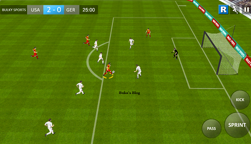Download 3D Real football 2016 for Java Phones Jar | Android