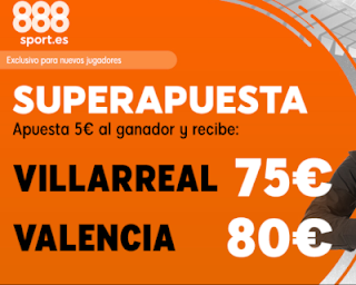 888sport superapuesta Europa League Villareal vs Valencia 11 abril 2019