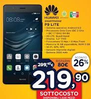 Unieuro Sottocosto Huawei P9 Lite