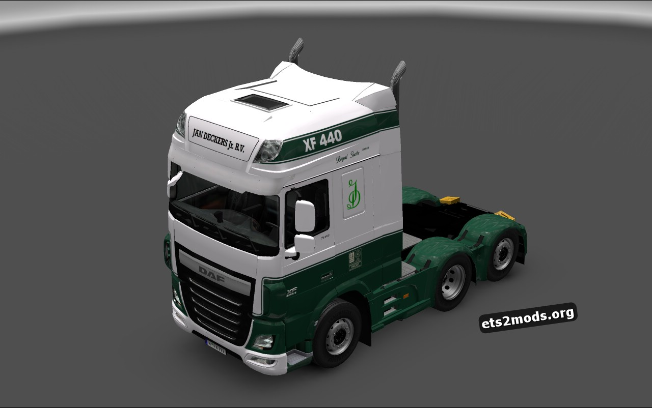 Jan Deckers Skin for DAF Euro 6