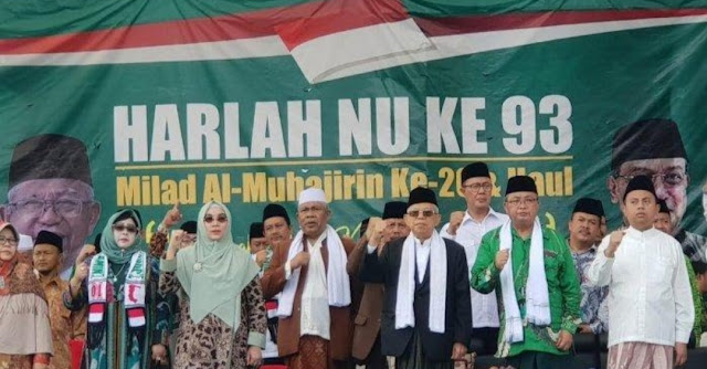 KH Ma'ruf Amin: Siapapun yang Mau Ganti NKRI Akan Berhadapan dengan Santri NU