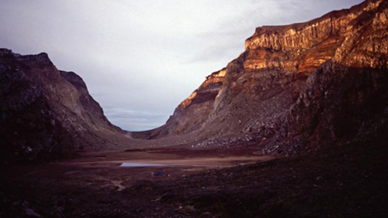 Profil Gunung Gamsunoro