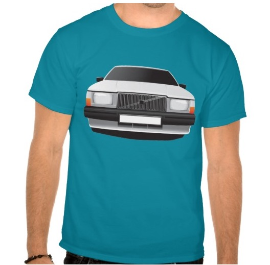Volvo 740 t-shirt t-troja apparel