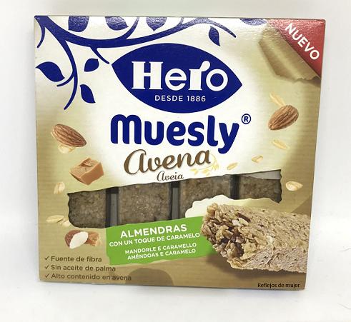 Probando Hero Muesly Avena