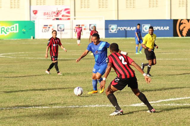 Bauger FC y Atlántico FC terminan empatados a uno en LDF Popular