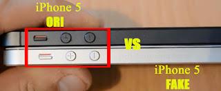 Perhatikan Tombol Power Buttom dan Volume iPhone 5