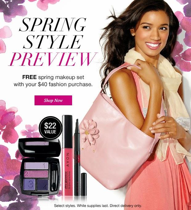 Free Avon Spring Makeup