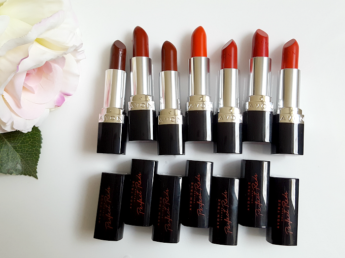 AVON True Colour Perfect Reds Collection - Lipsticks