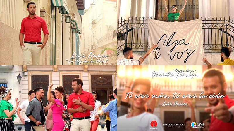 Luis Franco - ¨La voz de la vida¨ - Videoclip - Director: Yeandro Tamayo Luvin