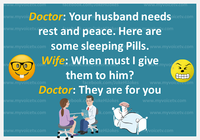 Hi, here is funny #joke for you..☺…like and share