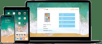 برنامج عمل النسخ الاحتياطي لملفات الأيفون والايباد واسترجاع الملفات Mobimover