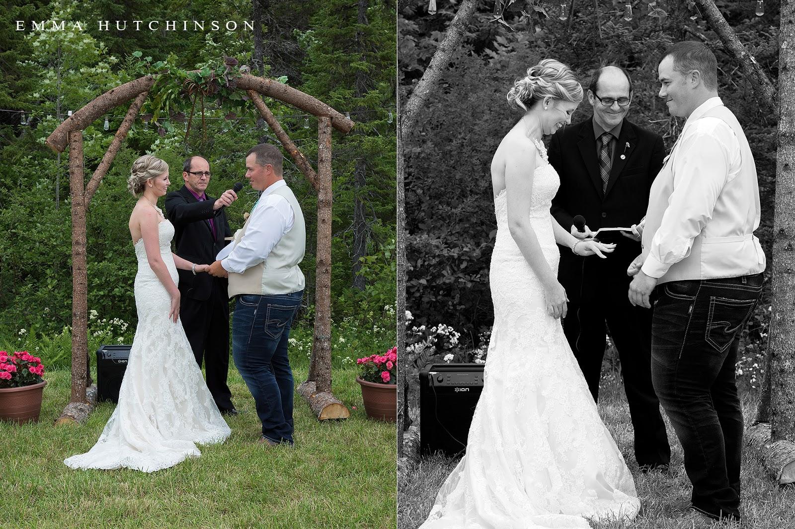 Newfoundland backyard weddings - wedding photography by Emma Hutchinson