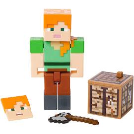 Minecraft Alex Survival Mode Figure