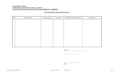 Download Format Surat Tugas Pengadaan Barang