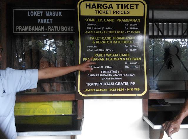 Daftar Tiket Paket Wisata Candi Prambanan