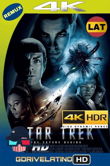 Star Trek: El Futuro Comienza (2009) BDRemux 2160P 4K HDR Latino MKV