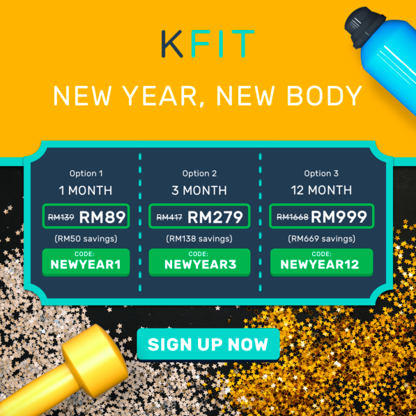 KFIt Promotion Code Malaysia for January 2018 New Year 2018