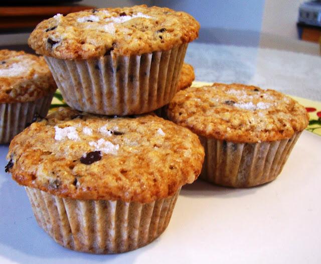 Muffins de Arándanos y Pepitas de Chocolate. Receta