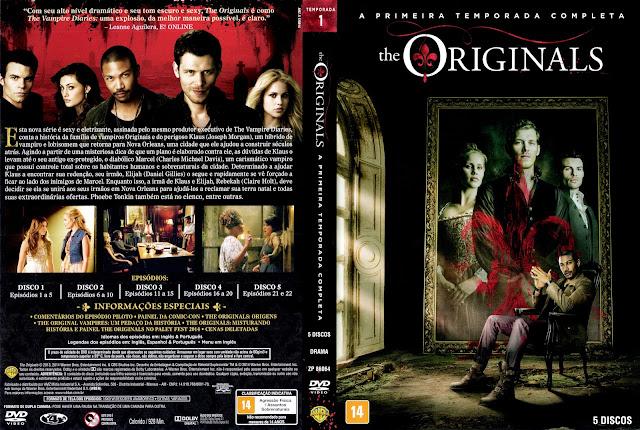 Capa DVD The Originals Primeira Temporada Completa