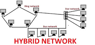 Hybrid Network topology diagram