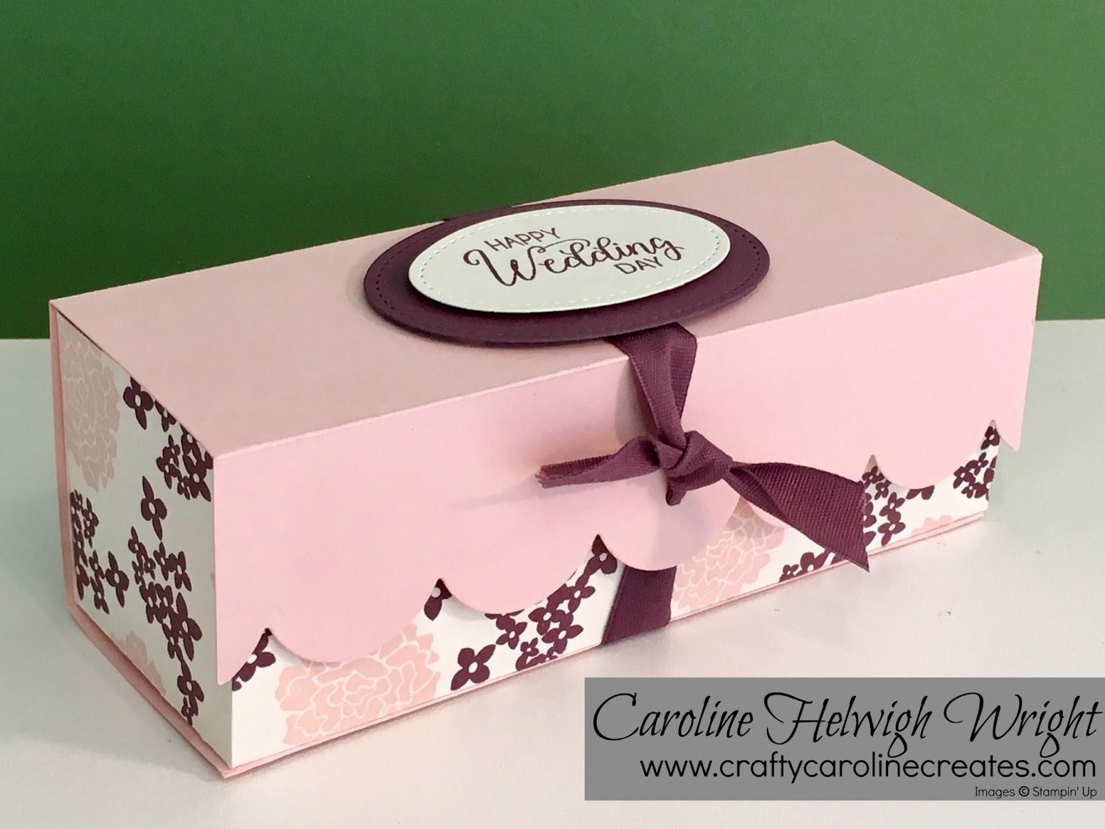 CraftyCarolineCreates: Elegant Scalloped Gift Box with Beautiful ...