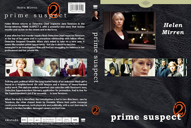 Prime Suspect Season 2 DVD Cover