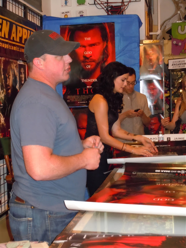 Sif Jaimie Alexander Thor movie signing