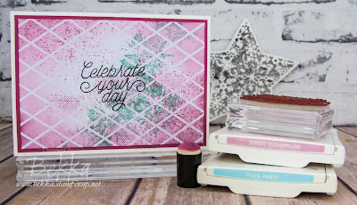 Celebrate Your Day with Irresistibly Floral Papers plus Touches of Texture and  Designer Tin Of Cards Stamps which you can buy here