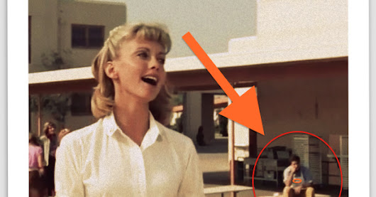 That Mysterious Background Extra from GREASE (1978)