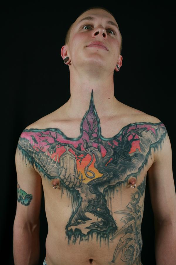 Free Amazing Styles: Chest Tattoo Photos Images Pictures