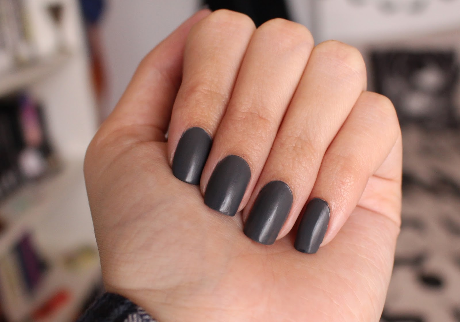 Kittenmoustache Notw Barry M Grey Lancome Matte Top Coat