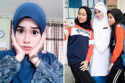 Guru Cantik dan Awet Muda Ini Hebohkan Netizen
