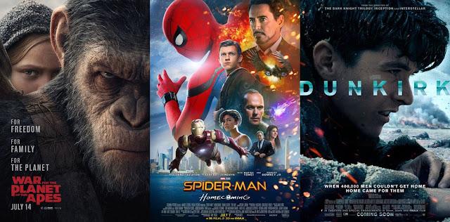 Jadwal Rilis Film Hollywood Terbaik Bulan Juli 2017