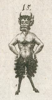 A closer image of the faun.